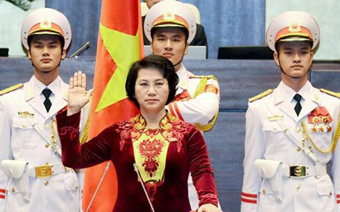 Hôm nay, Chủ tịch Quốc hội khoá XIV sẽ tuyên thệ nhậm chức - Ảnh 1
