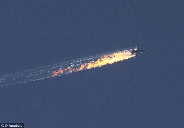 Máy bay NATO tham gia việc bắn hạ Su-24 Nga ở Syria - Ảnh 1