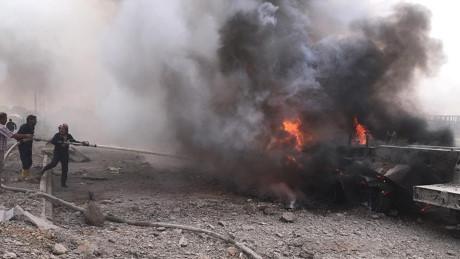 Đánh bom xe ở Đông Bắc Syria làm 16 người thiệt mạng - Ảnh 1