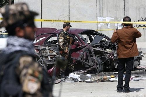 Nổ bom gần Đại sứ quán Mỹ ở Afghanistan - Ảnh 1