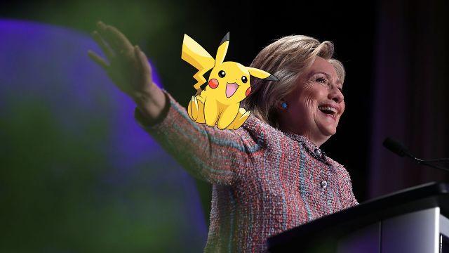 """Pokemon trở thành """"mồi nhử"""" cử tri của đảng Dân chủ - Ảnh 1"""