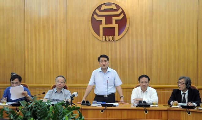 Đề xuất các mô hình, giải pháp chống ngập cho thành phố Hà Nội - Ảnh 1