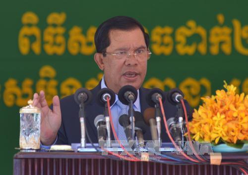 Thủ tướng Campuchia cảnh báo đảng đối lập về kế hoạch biểu tình - Ảnh 1