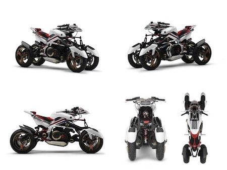 """Xuất hiện """"chiến binh"""" 3 bánh mới của Yamaha - Ảnh 5"""