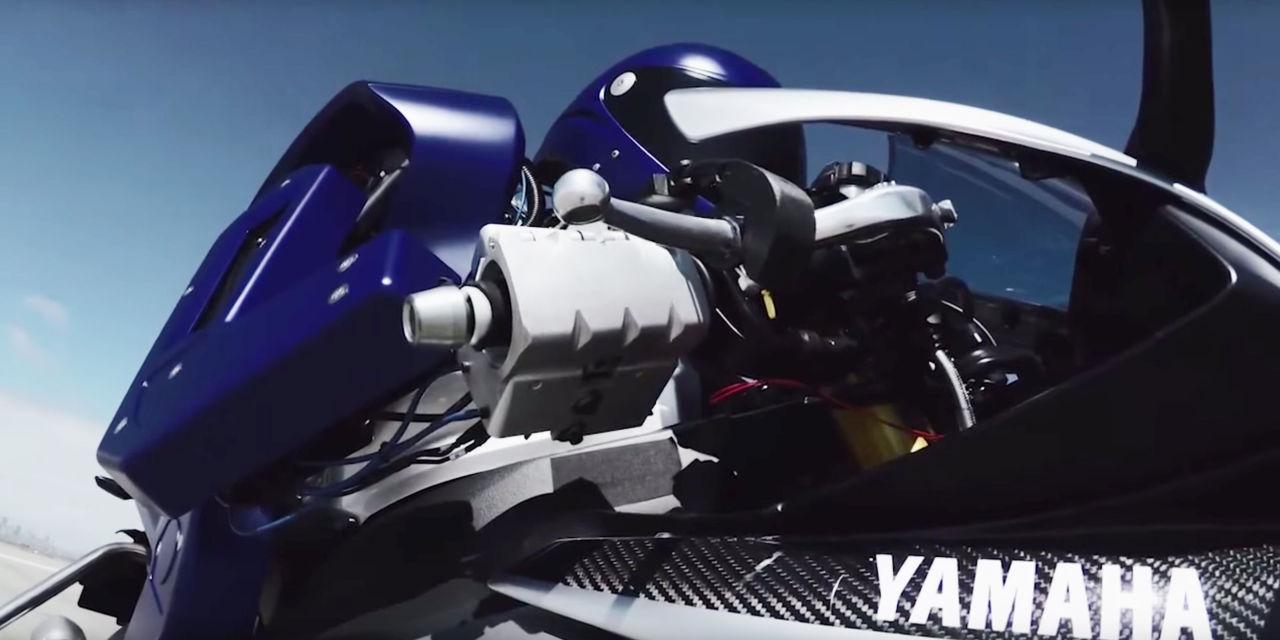 Rôbốt lái xe mô tô của Yamaha - Ảnh 1