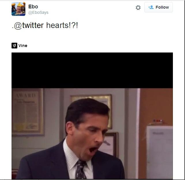 """Twitter hứng chịu phản ứng dữ dội khi thay đổi nút """"Favorite"""" - Ảnh 2"""