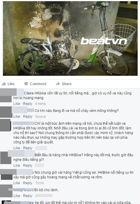 Người tiêu dùng hoang mang sau nghi vấn xe đạp điện HKbike phát nổ - Ảnh 2