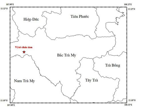 Thêm một trận động đất 3 độ Richter xảy ra ở thủy điện sông Tranh - Ảnh 1