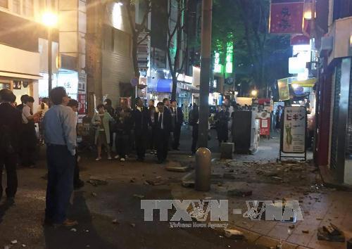 Động đất tại Nhật Bản: Mở 3 đường dây nóng nhận thông tin về người Việt - Ảnh 1