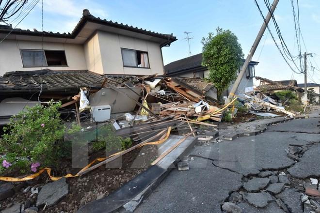Thủ tướng gửi điện thăm hỏi Thủ tướng Nhật về các vụ động đất - Ảnh 1