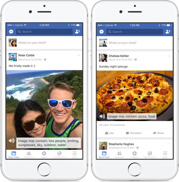 Tính năng độc đáo giúp người khiếm thị sử Facebook - Ảnh 2