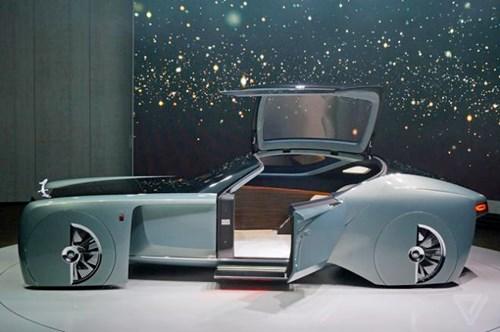 Ra mắt mẫu xe Rolls-Royce 103EX tự lái hạng sang - Ảnh 3