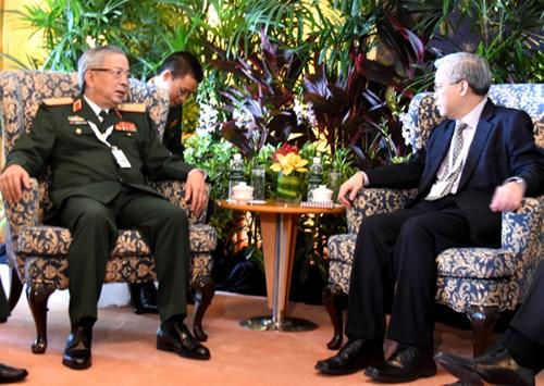 Hoạt động của tướng Nguyễn Chí Vịnh tại Đối thoại Shangri-La lần thứ 15 - Ảnh 4
