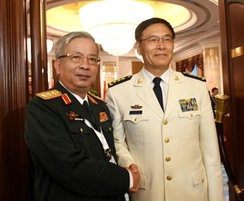 Hoạt động của tướng Nguyễn Chí Vịnh tại Đối thoại Shangri-La lần thứ 15 - Ảnh 7