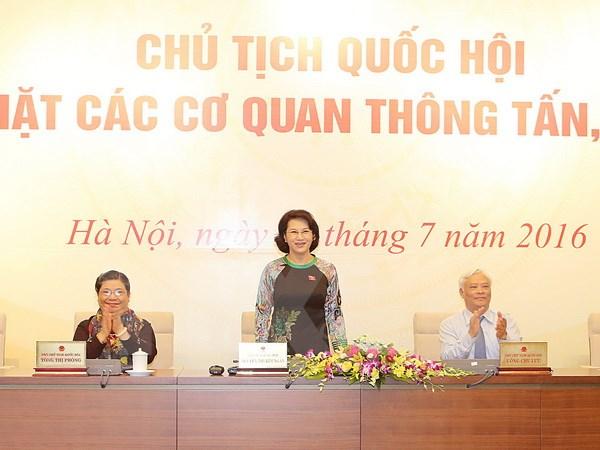 Chủ tịch Quốc hội thông tin về hoạt động của Quốc hội khóa XIV - Ảnh 1