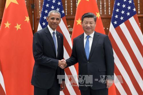 Chủ tịch Trung Quốc hội đàm với Tổng thống Mỹ trước thềm Hội nghị G20 - Ảnh 1