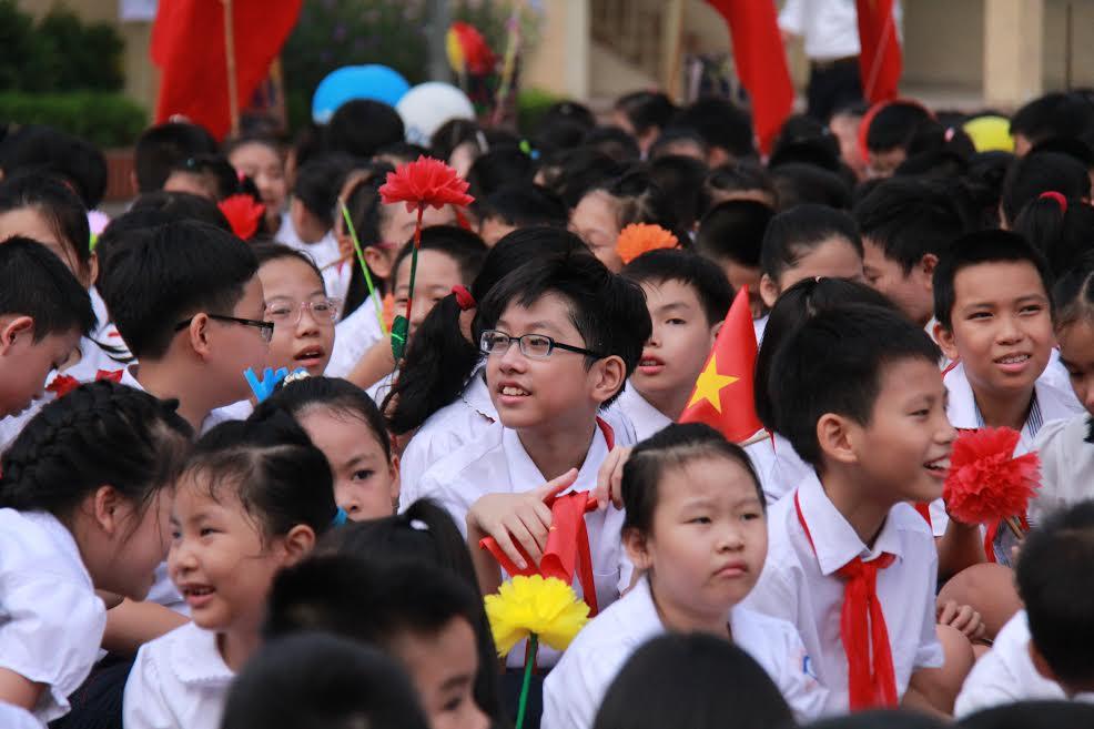 Lãnh đạo Đảng, Nhà nước tham dự lễ khai giảng năm học mới 2016-2017 - Ảnh 1