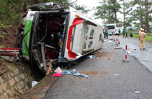 Danh sách nạn nhân trong vụ tai nạn xe khách ở Lâm Đồng - Ảnh 1