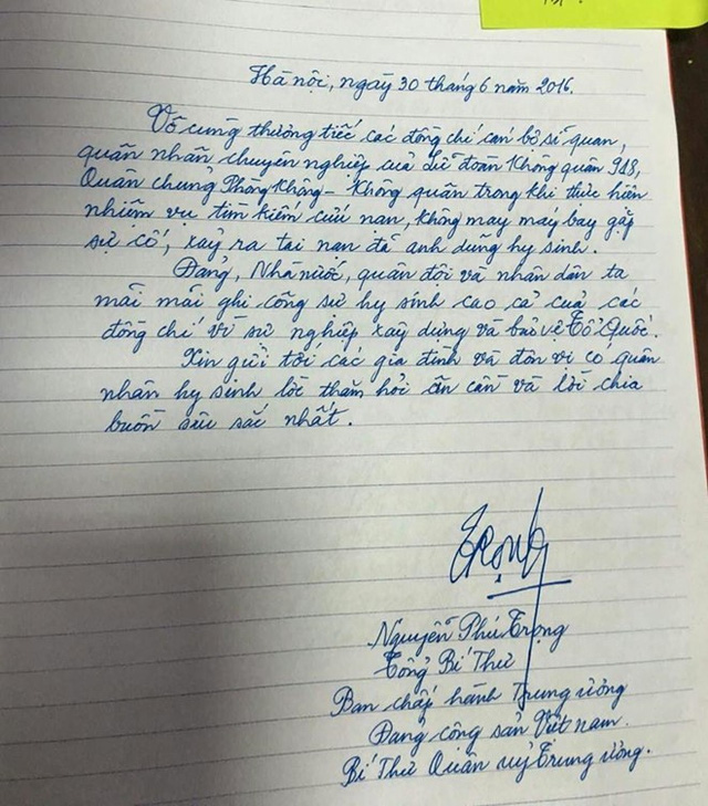 Hà Nội khóc tiễn biệt phi hành đoàn CASA 212 - Ảnh 4