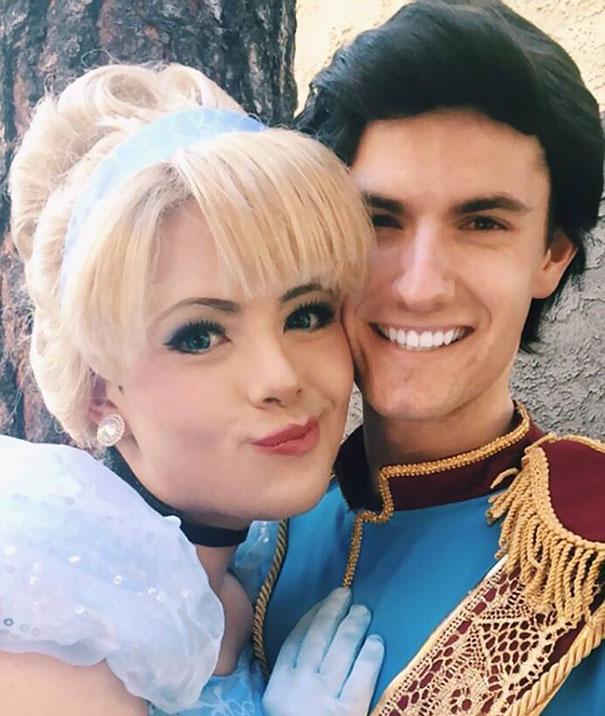 Kỹ năng trang điểm thành công chúa siêu đẳng của chàng trai fan Disney - Ảnh 10