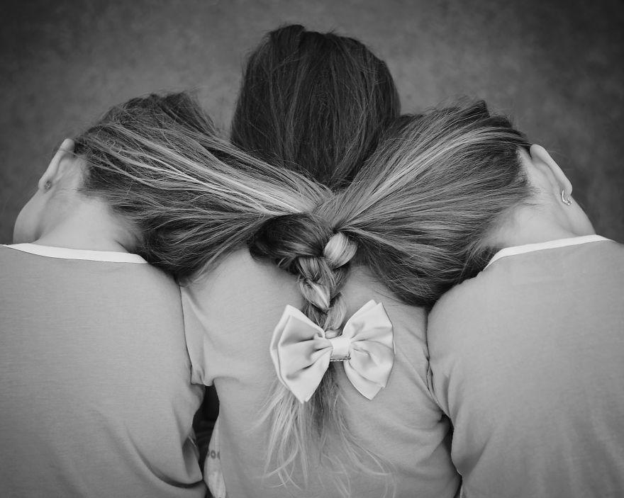 Vẻ đáng yêu của 3 bé gái sinh 3 'hút hồn' dân mạng - Ảnh 11