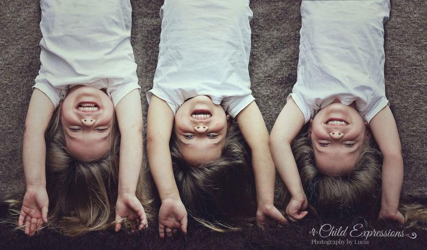 Vẻ đáng yêu của 3 bé gái sinh 3 'hút hồn' dân mạng - Ảnh 13