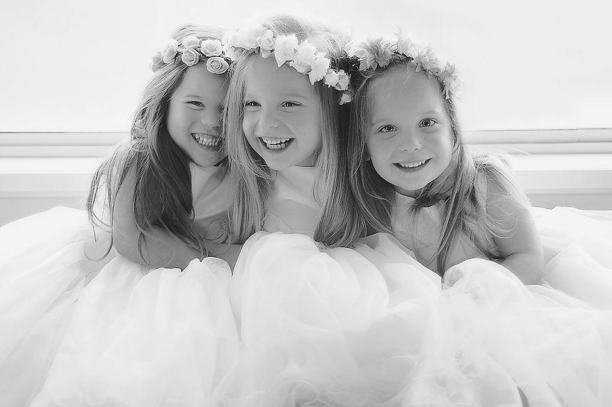 Vẻ đáng yêu của 3 bé gái sinh 3 'hút hồn' dân mạng - Ảnh 9