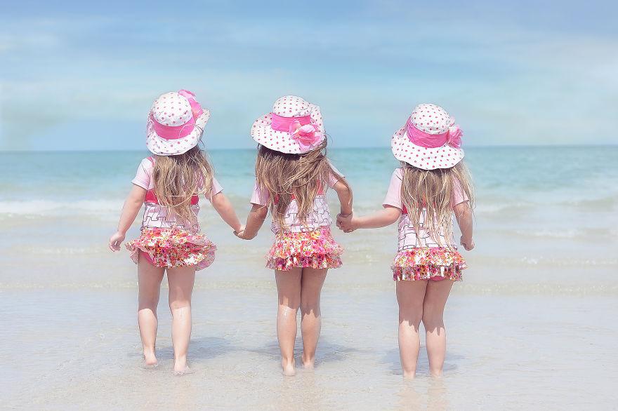 Vẻ đáng yêu của 3 bé gái sinh 3 'hút hồn' dân mạng - Ảnh 10