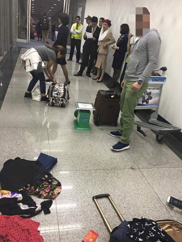 """Khách Việt kiều """"tố"""" nhân viên sân bay """"chèn ép"""", bắt vứt bỏ hành lý quá cước - Ảnh 1"""