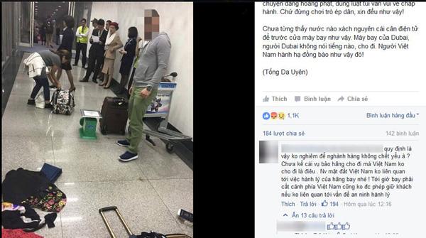 """Khách Việt kiều """"tố"""" nhân viên sân bay """"chèn ép"""", bắt vứt bỏ hành lý quá cước - Ảnh 2"""