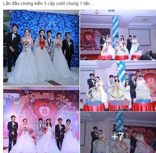 Ba chị em ruột tổ chức chung đám cưới tại Vũng Tàu - Ảnh 1