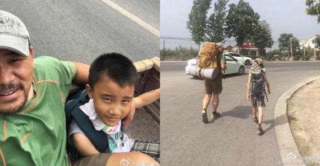 Người cha dùng 300 nghìn đồng với hành trình 700km để dạy con trai cách sống - Ảnh 1