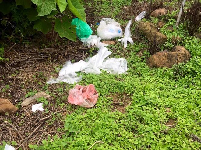 Phượt thủ xả rác bừa bãi trên núi Tà Xùa gây bức xúc - Ảnh 2