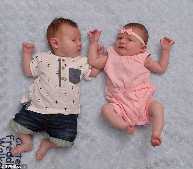 Bất ngờ chị em sinh đôi sinh con cùng ngày - Ảnh 4