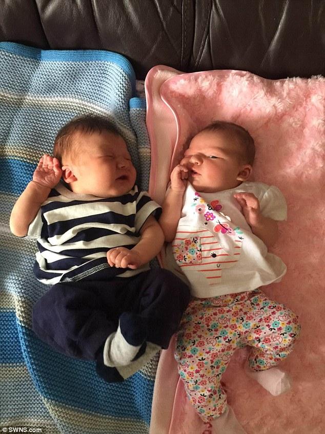 Bất ngờ chị em sinh đôi sinh con cùng ngày - Ảnh 5
