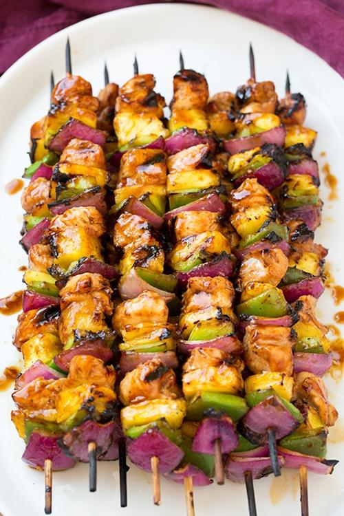 Kebab gà Hawaii – thịt gà xiên nướng ngon miệng lại dễ làm - Ảnh 4
