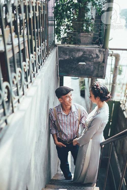 Yêu nhau lê la phố xá nên cưới cũng phải chất Hà Nội cổ kính và ngọt ngào - Ảnh 2