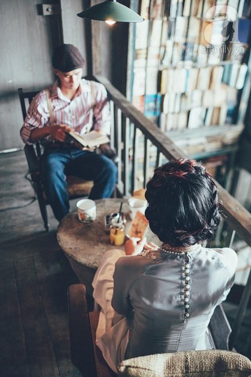 Yêu nhau lê la phố xá nên cưới cũng phải chất Hà Nội cổ kính và ngọt ngào - Ảnh 13