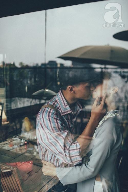 Yêu nhau lê la phố xá nên cưới cũng phải chất Hà Nội cổ kính và ngọt ngào - Ảnh 14