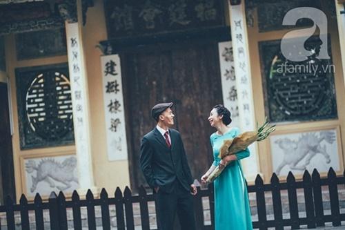 Yêu nhau lê la phố xá nên cưới cũng phải chất Hà Nội cổ kính và ngọt ngào - Ảnh 15