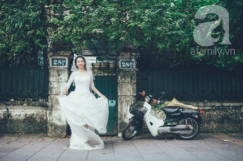 Yêu nhau lê la phố xá nên cưới cũng phải chất Hà Nội cổ kính và ngọt ngào - Ảnh 5