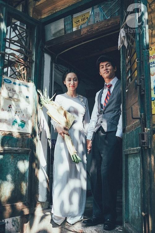 Yêu nhau lê la phố xá nên cưới cũng phải chất Hà Nội cổ kính và ngọt ngào - Ảnh 10
