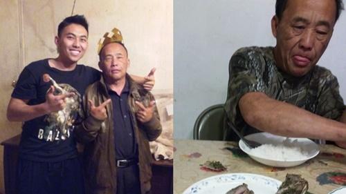 Đĩa cơm cá nướng của người cha già gây bão cộng đồng mạng thế giới - Ảnh 1