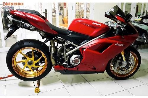 """Siêu môtô tiền tỷ Ducati 1198S """"độ hết bài"""" tại Việt Nam - Ảnh 2"""