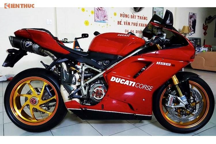"""Siêu môtô tiền tỷ Ducati 1198S """"độ hết bài"""" tại Việt Nam - Ảnh 12"""