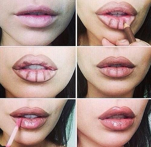 Cách trang điểm để có đôi môi dày mọng gợi cảm mà không cần phẫu thuật - Ảnh 3