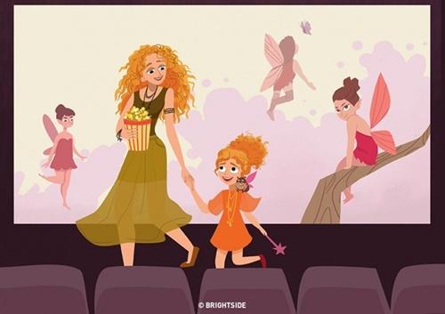 Niềm hạnh phúc chỉ những bà mẹ có con gái mới cảm nhận được - Ảnh 1