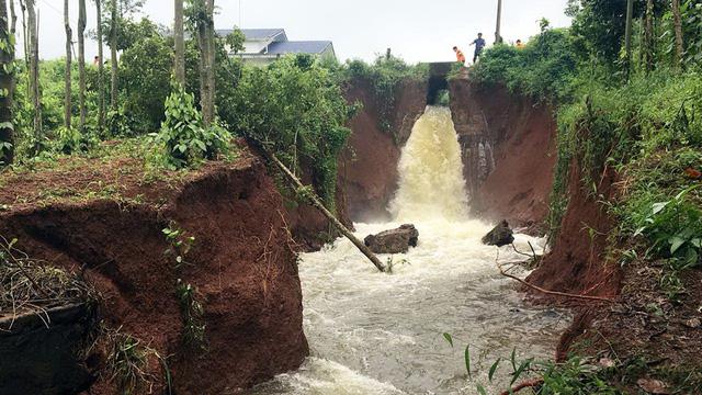 Hồ chứa hơn 4 triệu m3 nước ở Bà Rịa - Vũng Tàu có nguy cơ vỡ  - Ảnh 1