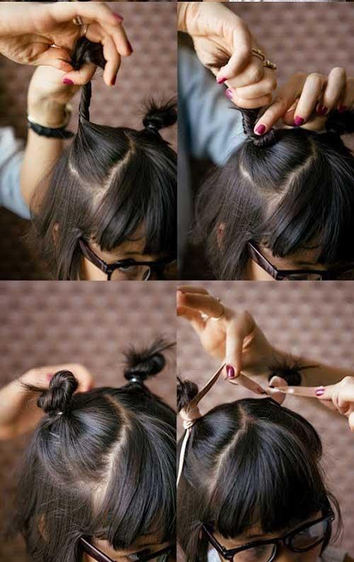 Những kiểu tóc tết đáng yêu cho bé gái đi chơi dịp tết Dương lịch 2018 - Ảnh 9