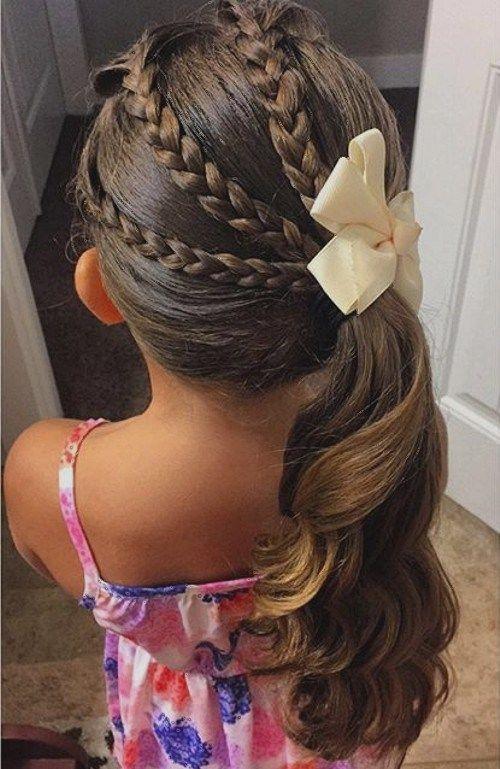 Những kiểu tóc tết đáng yêu cho bé gái đi chơi dịp tết Dương lịch 2018 - Ảnh 5